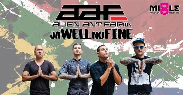 Alien Ant Farm's Ja Well No Fine tour comes to SA
