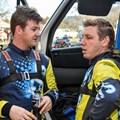 Richard Leeke makes history in VW Rally