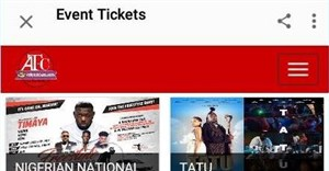 In-app ticket purchase for local concerts, events in Nigeria
