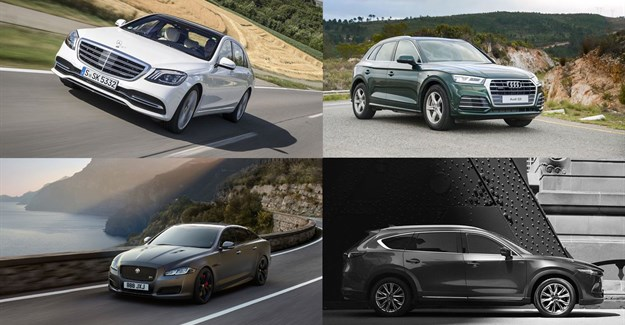 #RideRoundup: All-new Audi Q5, new S-Class, Mazda CX-8, Jaguar XJ