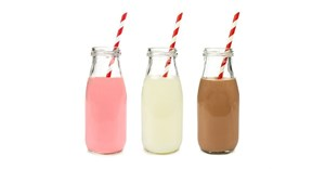 Flavoured milk loses zest
