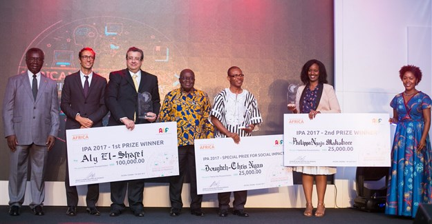 Three outstanding African innovators walk away with Innovation Prize for Africa (IPA) 2017.