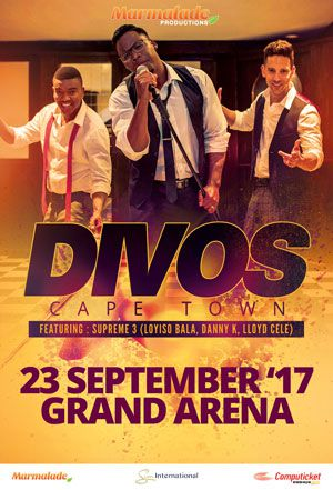 Loyiso Bala, Danny K and Lloyd Cele headline 2017 Cape Town Divos