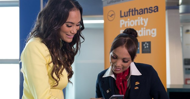 Jo-Ann Strauss, former Miss South Africa, businesswoman, proud mom, and the Face of Lufthansa in South Africa.