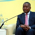 Aliko Dangote speaking during the Afreximbank annual general meeting in Kigali, Rwanda.