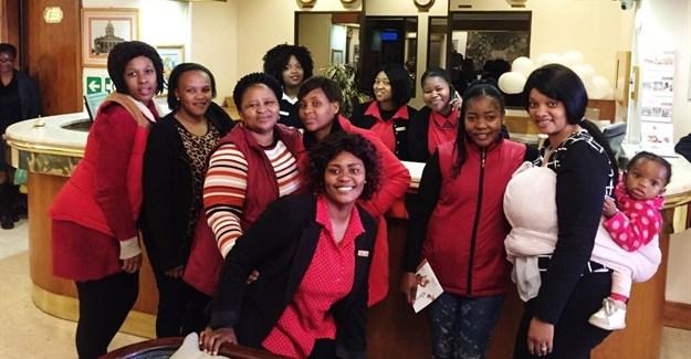The women of Bon Hotel Bloemfontein Central