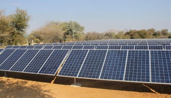 Arebbusch solar power. Image: Republikein