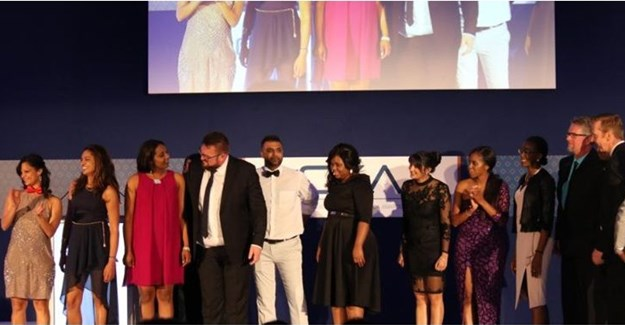 MultiChoice team at CXA Awards © .