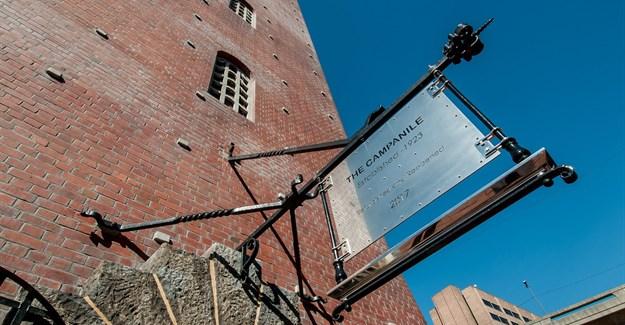 PE's renovated Campanile Memorial unveiled