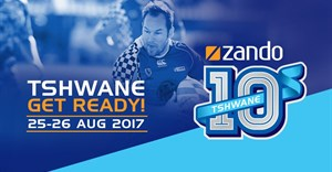 Thrilling sport action at Zando Tshwane 10s