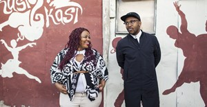 DJ and producer Spoek Mathambo and Khayelitsha's own, Yolanda Fyrus.