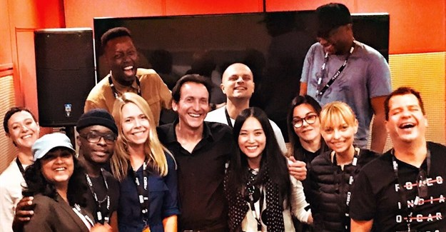 Wasielewski with the rest of this year's Loeries' Communication Design judging panel.