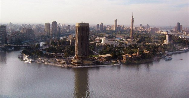 The River Nile at Cairo, Egypt. Flickr/Emad Faied