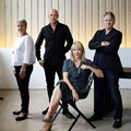 Business of Design founders Cathy O Clery, Laurence Brick, Trevyn McGowan and Julian McGowan. Photo: Greg Cox.