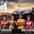 Toyota Fortuner 4X4 enlists support of four sporting heroes for 2017 competition