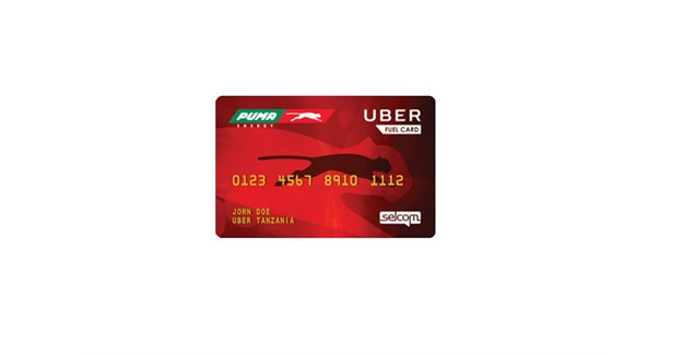 Uber-Puma Fuel Card launched