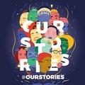 #OurStories theme at SA Book Fair.