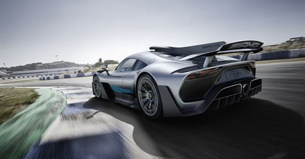 Mercedes-AMG brings F1 hybrid tech from race track to road