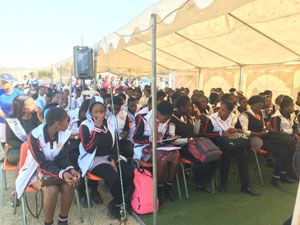 Launch of CRF Artisan Programme at Diepsloot Combined School