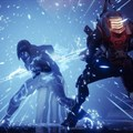 A staff-wielding Arcstrider character takes on foes in Destiny 2. The video game by Bungie studio, published by Activision, makes use of badges and other achievements to spur on players — a technique that can be applied to education. Handout