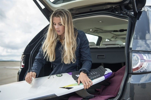 Jaguar Land Rover launches surfboard from upcycled plastic foam
