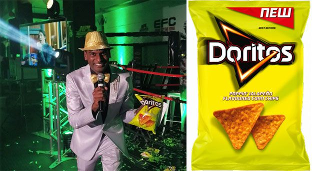 Doritos brand manager - Wesley Chetty