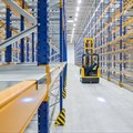 19.1 km of shelving for new goods distribution centre