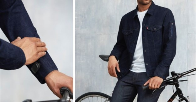 Google weaves touch controls into Levi Strauss jacket