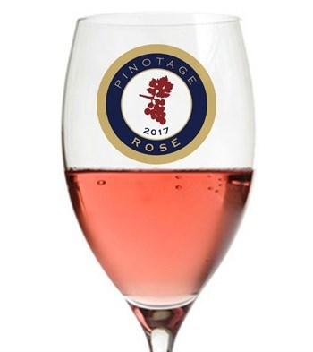 Pinotage Rosé award Glass