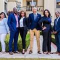 From left to right: Devina Dawkinum, Ronnie Nemukula, Noli Mini, Hezron Louw, Nicole Msibi and Nqobile Nkosi