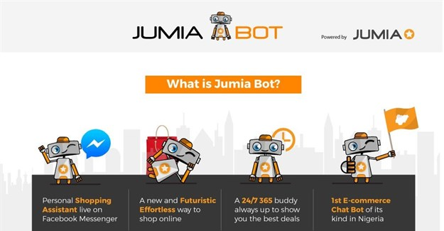 Nigeria's first e-commerce bot from Jumia