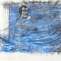 Two drawings from William Kentridge's early films on offer at Strauss & Co's 16 October auction in Cape Town