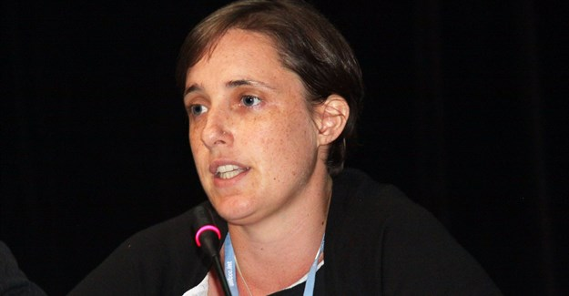 Melita Steele, senior environmental campaigner: Greenpeace Africa. Photo: