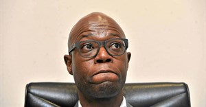 Matshela Koko, suspended CEO of Eskom