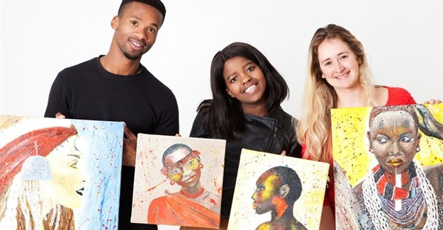 #EntrepreneurMonth: Supporting disadvantaged artists through the Grassroots Art Project