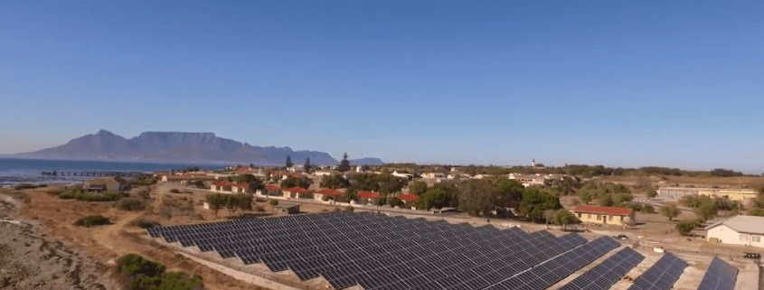 Robben Island turns to the sun for power