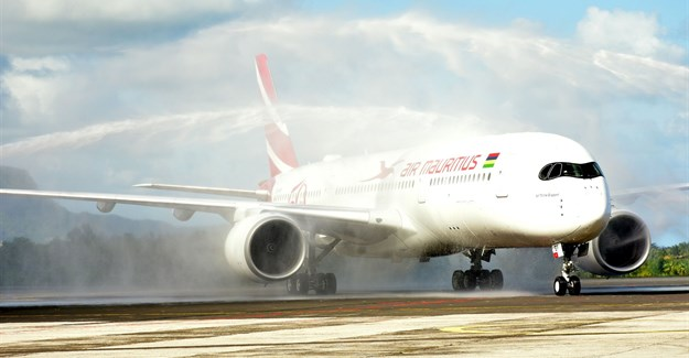 Air Mauritius receives first Rolls-Royce powered Airbus A350