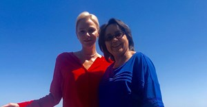 Princess Charlene of Monaco and Cape Town mayor, Patricia de Lille