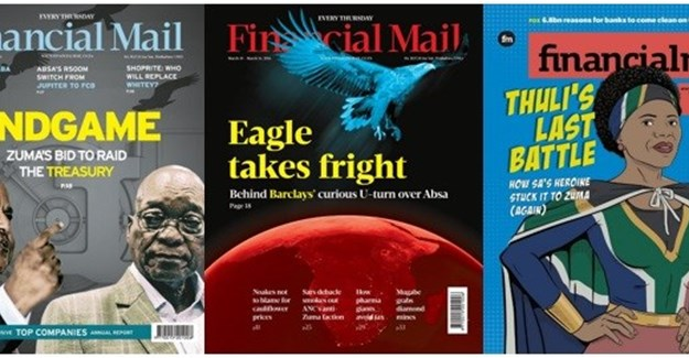 #Newsmaker: Buitendach, Singiswa win Sikuvile Journalism Award for presentation of Financial Mail covers