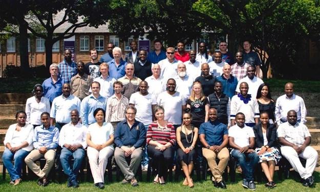 The 2017 Programme in Blasting Engineering delegation facilitated through Enterprises University of Pretoria.