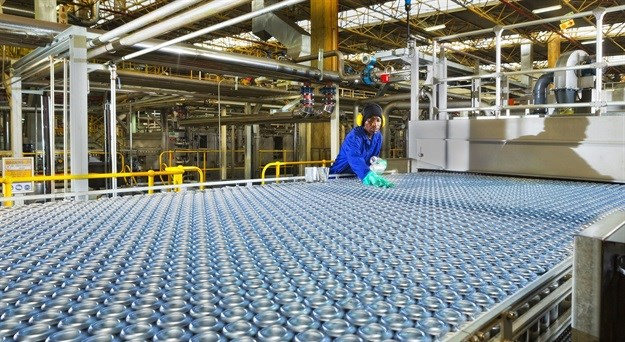 Large investment into converting beverage can industry from steel to aluminium pays off