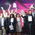 Winners of AfricArena startup pitch battles