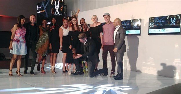 Halo agency, winner of the Nkosi Award for the highest ranking campaign at the Assegai Awards.