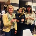From left: Annemien Kotze of Bonne Esperance Guest House, Lise Grobbelaar of Babylonstoren and Hildegard Kidd of Individual Tours enjoying the hospitality of Life & Leisure Guest House at the SPM's AGM.