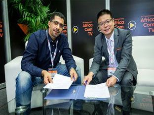 AfricaCom news: New Link and Hongdian Corporation 'connect' and strike lucrative co-operation agreement