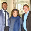 L-R: Professor William Gumede of the Democracy Works Foundation, Inyathelo programme director Nazli Abrahams and Noel Daniels, CEO of the Cornerstone Institute and Inyathelo board member.