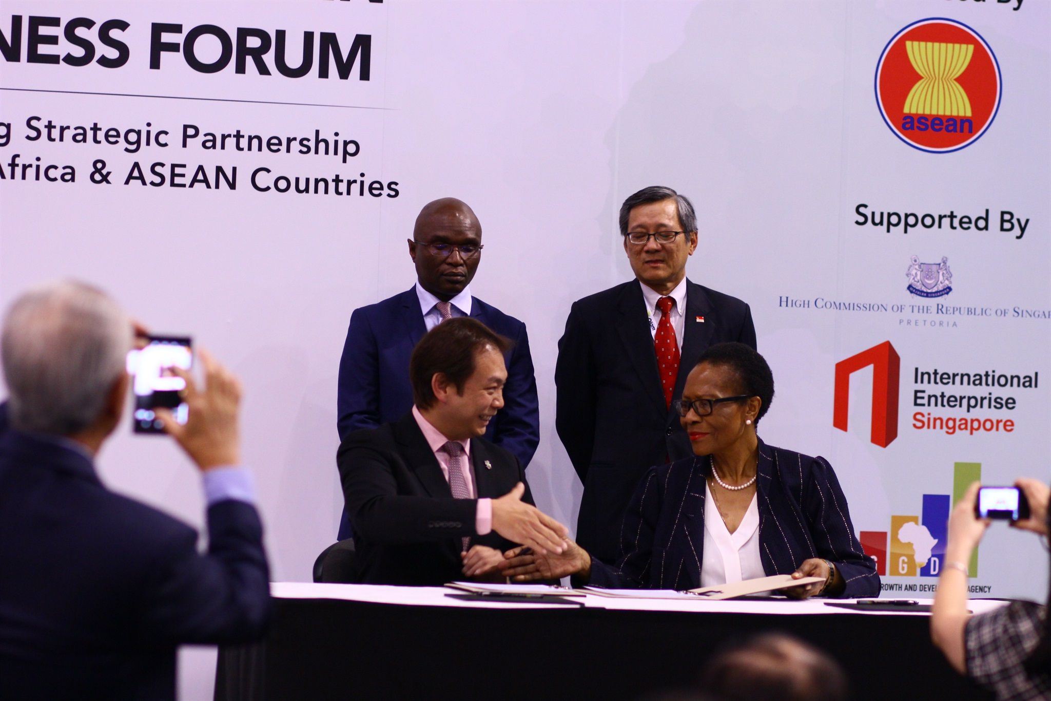 Strengthening Of Trade Investment Ties At Africa Asean Business Expo