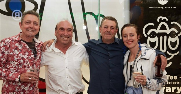 Mike Schalit, Anthony Kawitzky (Marlboro Originals), Clinton Mitri (COO at BBDO South Africa), Emma Strydom. Images supplied.