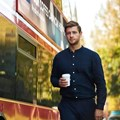 Coffee is revving up London buses