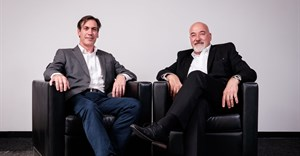 Managing director of Brand Union Africa, Mathew Weiss and Doug de Villiers, CEO of Brand Science.